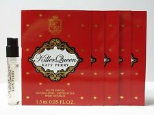 Lot of 5 Killer Queen Katy Perry 1.5ml .05fl oz Women PERFUME SPRAY SAMPLE New