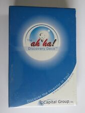 Ah Ha DISCOVERY CARD DECK ~ 60 Cards Highlight INVENTORS & INVENTIONS