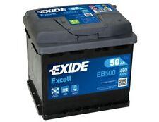 Batteria auto EXIDE EB500 12V 50AH 450EN