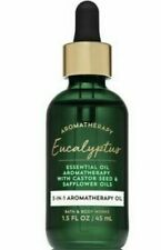 Bath & Body Works Aromatherapy Eucalyptus 3-in-1 Essential Oil Dropper 1.5 oz