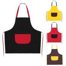 Fashion Unisex Sleeveless Adult Anti-Oil Apron Household Kitchen Cooking Dress