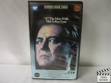 """X"" The Man With The X-Ray Eyes VHS Ray Milland"
