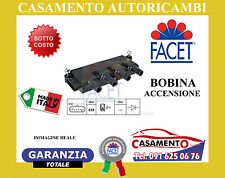 BOBINA ACCENSIONE FACET LANCIA YPSILON 1.2 1.4 1.4 LPG  9.6323