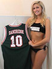 Bob Dandridge Signed Custom Jersey - Milwaukee Bucks 1971 NBA Champion