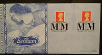 GB Benham FDC Millennium First & Last Day 1999 - 2000 Greewich London SHS