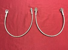 "1966-1977 EARLY FORD BRONCO EXTENDED FRONT & REAR AXLE BRAKE HOSE SET! 3-6"" LIFT"