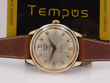 LONGINES CONQUEST 7290 18 KT GOLD  AUTOMATIC DATE  YEARS '60 TOP CONDITION WATCH
