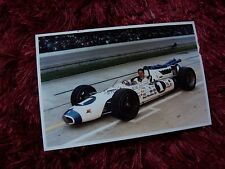 Photo  / Photograph   Mario Andretti   BRAWNER HAWK  Indianapolis 500  1966 //