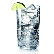 Tall Plastic Glass Clear Kitchen Barware Unbreakable Beverages Drinking Glasses
