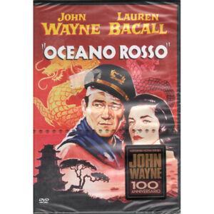 Oceano Rosso DVD John Wayne / Lauren Bacall / Anita Ekberg Warner Home Sigillato