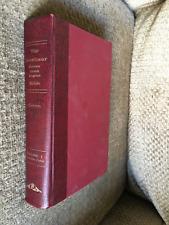 Interlinear Hebrew Greek English Bible Scholar Student  Volume 1 one 1979 book