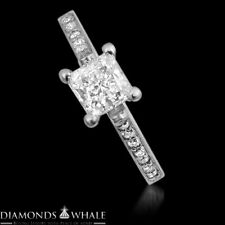 1.98 Tcw Solitaire With Accent Princess Diamond Ring Vs1/D Engagement Enhanced