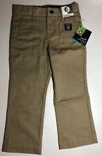 NEW Volcom Little Youth Khaki Chino Pants Size 3T Adjustable Waist