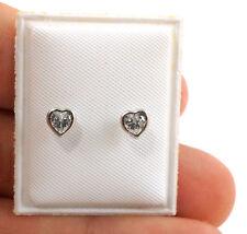 Kids Screw Back Earrings 925 Sterling Silver Baby Earrings Screw Back