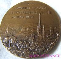 MED4258 - MEDAILLE CONCOURS INTERNATIONAL DE TIR ROUEN 1914 par L.O. MATTEI