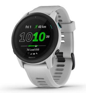 GARMIN Forerunner 745 weiß GPS-Multisport Smartwatch Triathlon Bluetooth Uhr