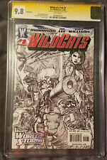 wildcats Vol 4 1 CGC 9.8 Signature Series 9.8 Signed by Grant Morrison