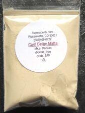 Mineral Vegan~1 oz~Sweetscents~Foundation ~Bare~Loose Powder Mica~Cool Beige Matt