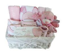 Baby Gift Basket Girl. Baby Hamper Girl. Baby Shower Gift Basket.Nappy Cake Girl