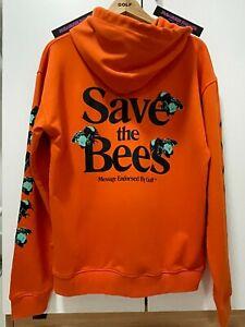 GOLF WANG ORANGE SAVE THE BEES HOODIE