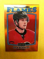2016-17 O-Pee-Chee Platinum Retro Orange Rainbow #R-35 Sam Bennett 47/49 Flames