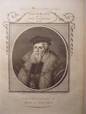 «Francis Russell, 2° Earl Of Bedford » Gravierkunst bei Thomas Cook