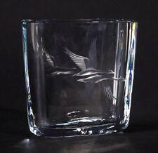Strombergshttan inciso ART GLASS Vaso C.1950