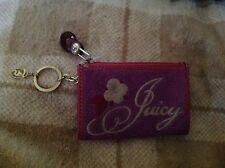 JUICY COUTURE PINK COIN PURSE