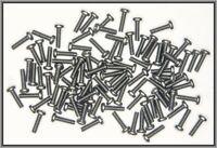 Dingler Schrauben Kreuzschlitz Stahl M1.4x5mm 100 Stück (KS14500) DIN934