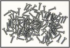 Dingler Schrauben Kreuzschlitz Stahl schwarz verzinkt M1.4x5mm 100 Stück
