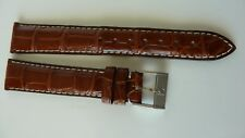 Zenith Crocodile 17mm Original watch strap with the buckle new