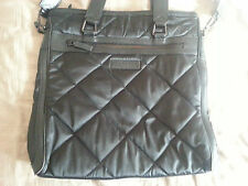 100% AUTHENTIC Used Black Men Burberry Messenger Bag