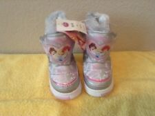 DISNEY PRINCESS INSULATED WINTER BOOTS GIRLS TODDLER SIZE 5-6 - BRAND NEW!