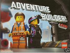 The LEGO Movie ADVENTURE BUILDER MAGAZINE Emmet Uni-Kitty Etc Giveaway Exclusive