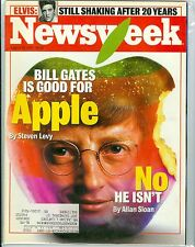 Newsweek  Steve Jobs Apple Computer Bill Gates    August 18, 1997