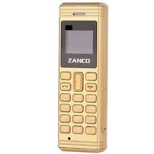 Offer New Zanco Gold Fly Worlds Smallest Phone with Voice Changer Bluetooth UK