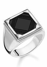 81716034 THOMAS SABO Silberring »Onyx, TR2211-698-11-60 mit Onyx Gr. 62 neu