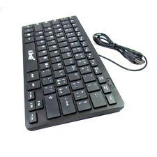 Mini Tastiera Keyboard Ulta Slim Usb 2.0 Ps3 Ps4 Pc Notebook Linq Km-681