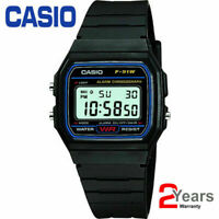 Casio F-91W-1YER Men's Resin Digital Watch With alarm and 2 years Warranty