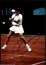 Alexandra Fusai TOP GF Orig. Sign. Tennis + G 5738