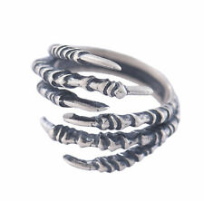 I13 Ring Adlerklaue Adler Sterling Silber 925 größenverstellbar