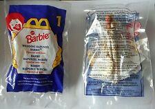 McDonalds Happy Meal Toy; 1996 Barbie Wedding Rapunzel Barbie, No. 1, Nip