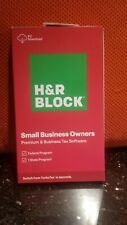 2020 H&R Block Small Business Owners Premium & Business Tax Windows