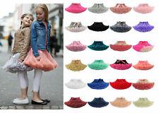 Girls Kids Tutu Skirt Kids Dance Tutu Petticoat Party Dress Ballet Fluffy layer
