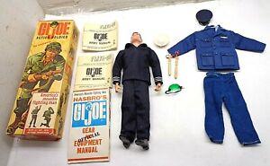 1964 GI Joe Hasbro Action Soldier w/ Box Uniforms Manuals - FREE SHIPPING!!!