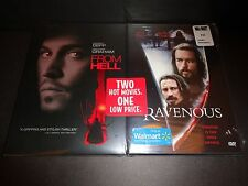 RAVENOUS & FROM HELL-2 movies-GUY PEARCE, JOHNNY DEPP, HEATHER GRAHAM-Horror