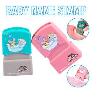 Baby Namensstempel Kinder Namenssiegel Schülerkleidung Kapitel DE