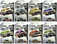 HOT WHEELS DIE CAST CAR 50TH ANNIVERSARY - CHOICE OF 8 VEHICLES - NEW BOXED