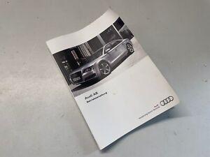 Audi A8 4H D4 Betriebsanleitung Bedienungsanleitung 1215614H000
