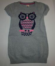 New Gymboree Sparkly Owl Sweater Dress 4 Year NWT Fairy Tale Forest Girls Woot!
